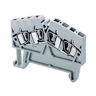 Connectwell Angular Spring Clamp Terminal Blocks AS2.5/4