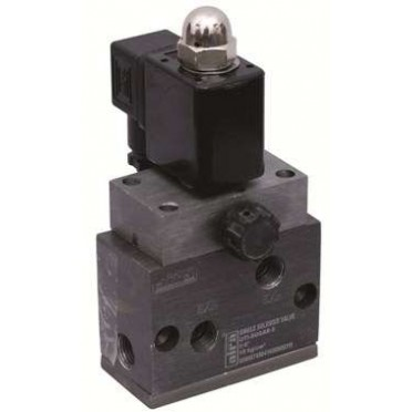 Airmax 1/4 Inch 3/2 & 5/2 Way Poppet Type Solenoid Valve