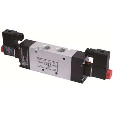 Airmax Compact Design 1/2 Inch 5/2 Way Double Solenoid Valve