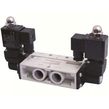Airmax Spool Type 1/2 Inch 5/2 Way Double Solenoid Valve