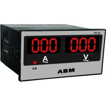 ABM AMP Volt Combine Meter AV-32