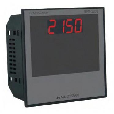 Multispan Digital RPM Indicator RPM-1201