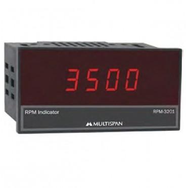 Multispan Digital RPM Indicator RPM-3201