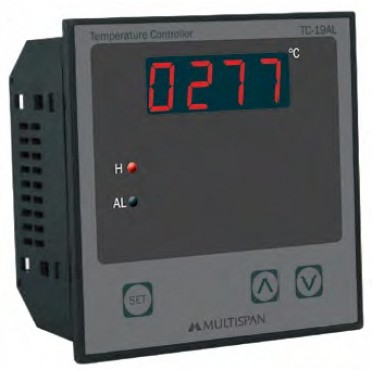 Multispan Digital Temperature Controller TC-19AL
