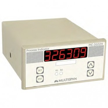 Multispan Process Controller PIC-3102H