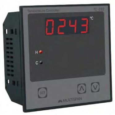 Multispan Programmable Temperature Controller TC-44