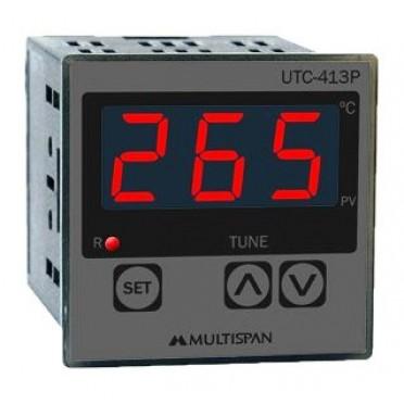 Multispan Temperature Controller Single Display Single Output PID UTC-413P