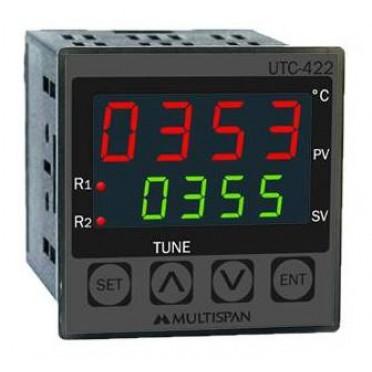 Multispan Temperature Controller Dual Output PID UTC-122