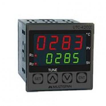 Multispan Temperature Controller Dual Output PID UTC-4202