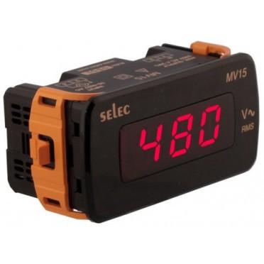 Selec Voltmeter MV15