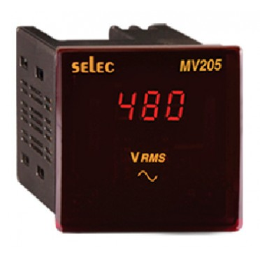 Selec Voltmeter MV205