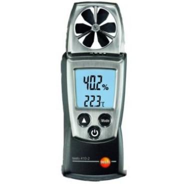 Testo 410-2 Compact Vane Anemometer (+Humidity)
