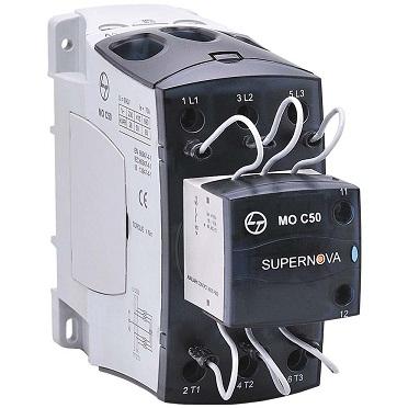 L&T Capacitor Duty Contactor MO C50 50kVAR 1NO CS96324
