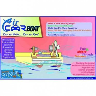 Junior Scientist Air Car Boat  (Study Project)