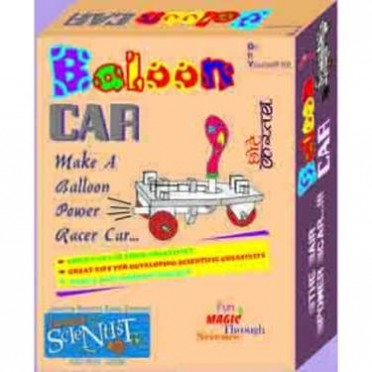 Junior Scientist Balloon Car (Study Project)