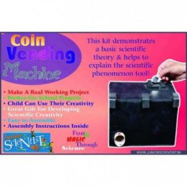 Junior Scientist Coin Vanding Machine (Study Project)