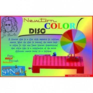 Junior Scientist Newton Colour Disc (Study Project)