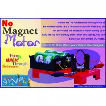 Junior Scientist No Magnet Motor Study Project