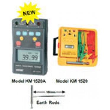 Kusam Meco Digital Earth Resistance Tester KM 1520