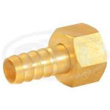 Brass Hose Fitting Hose Nut & Nipple Set