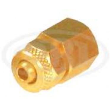Brass Tube Fitting P U Connector Female (Female X Tube OD)