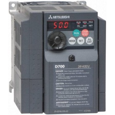 Mitsubishi AC Drive 1HP 400V FR-D740-022-EC